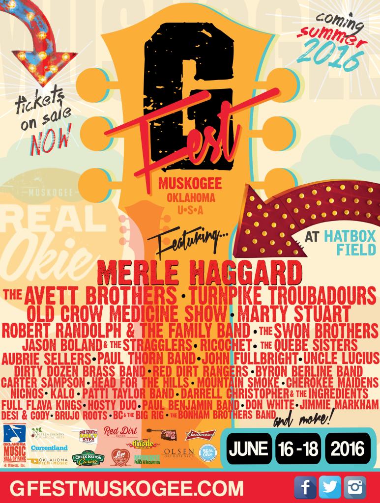 G-Fest, Muskogee, OK