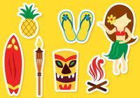 hawaii-icons-vectors