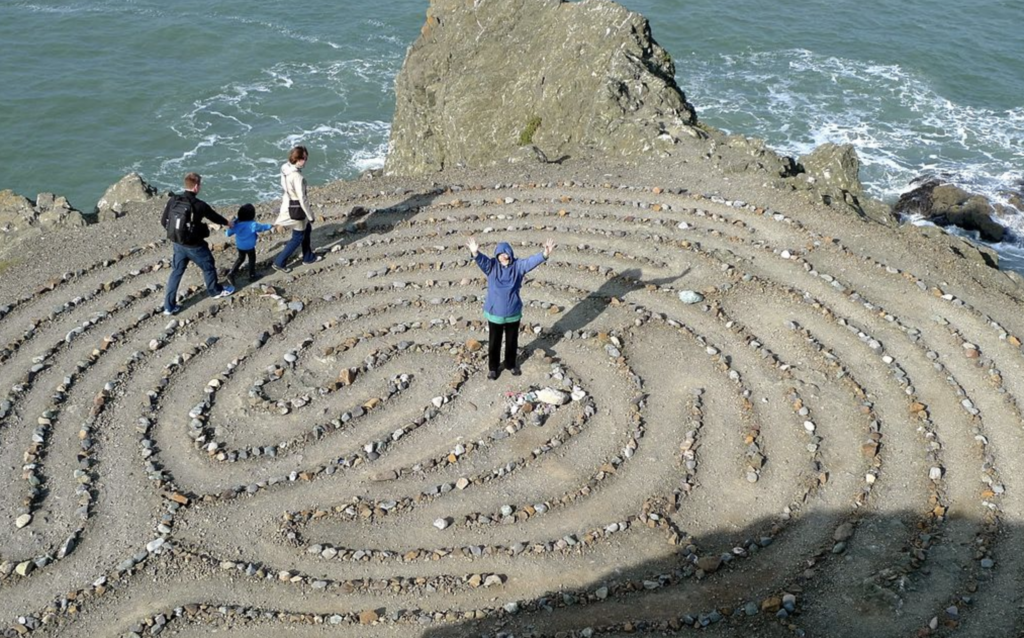 labyrinth, San Francisco