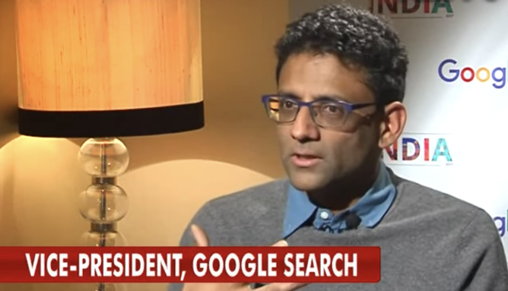 Google 20 improving search by Ben Gomes