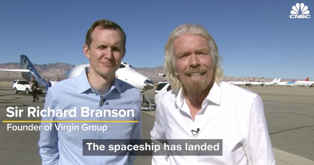Sir Richard Branson - Unity