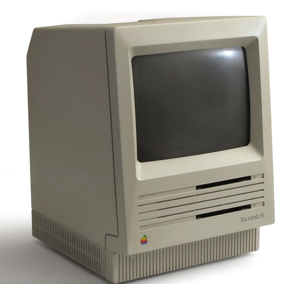 Macintosh SE (Wikipedia Commons)