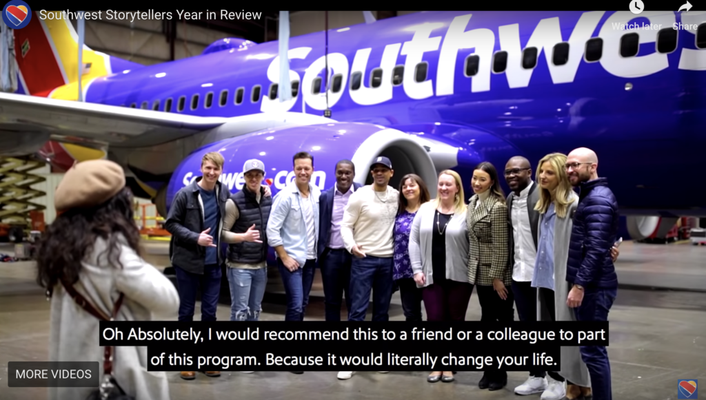 Southwest Airlines Storytellers