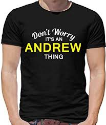 It's an Andrew thing