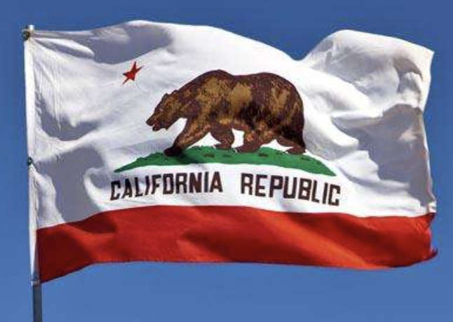 CA Republic flag