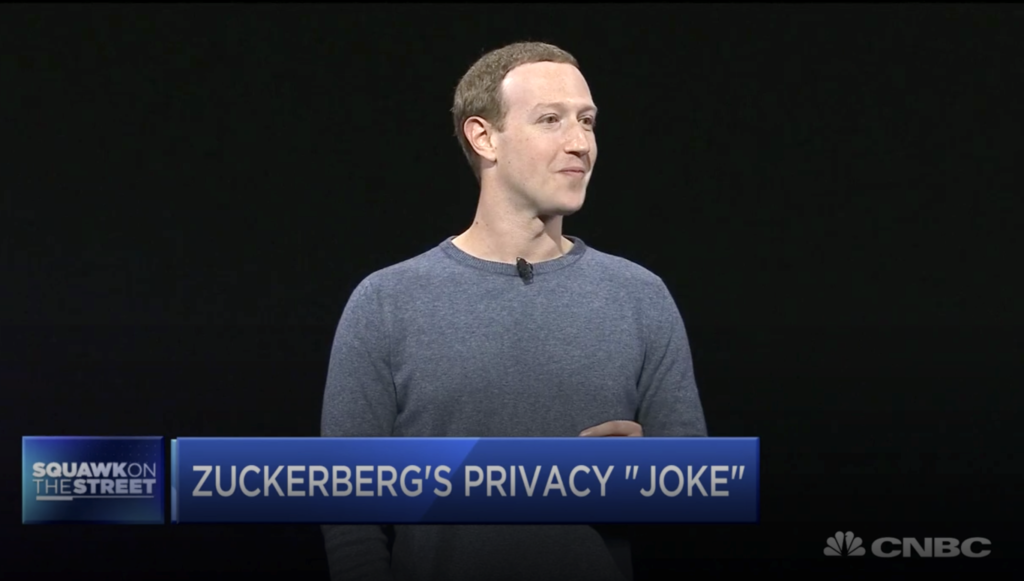Mark Zuckerberg 2019