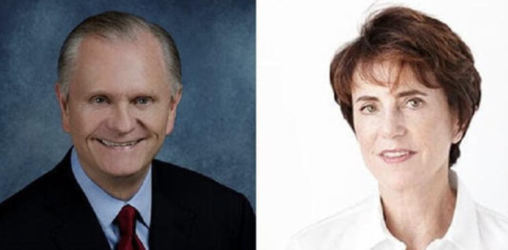 Bob Moore and Nancy Novogrod