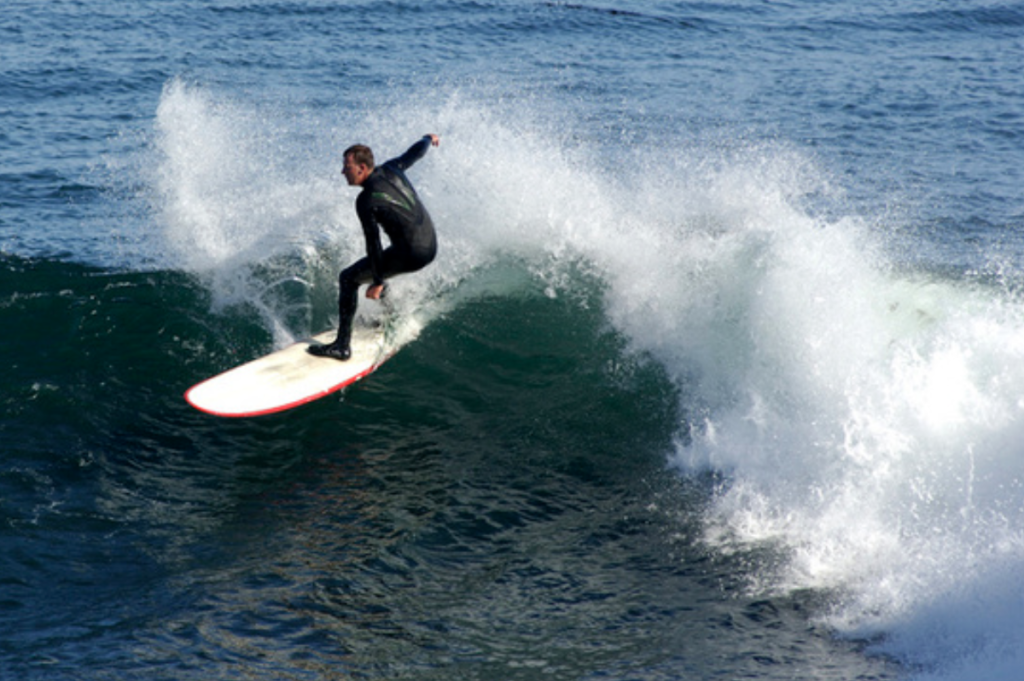 Surfer, Santa Cruz