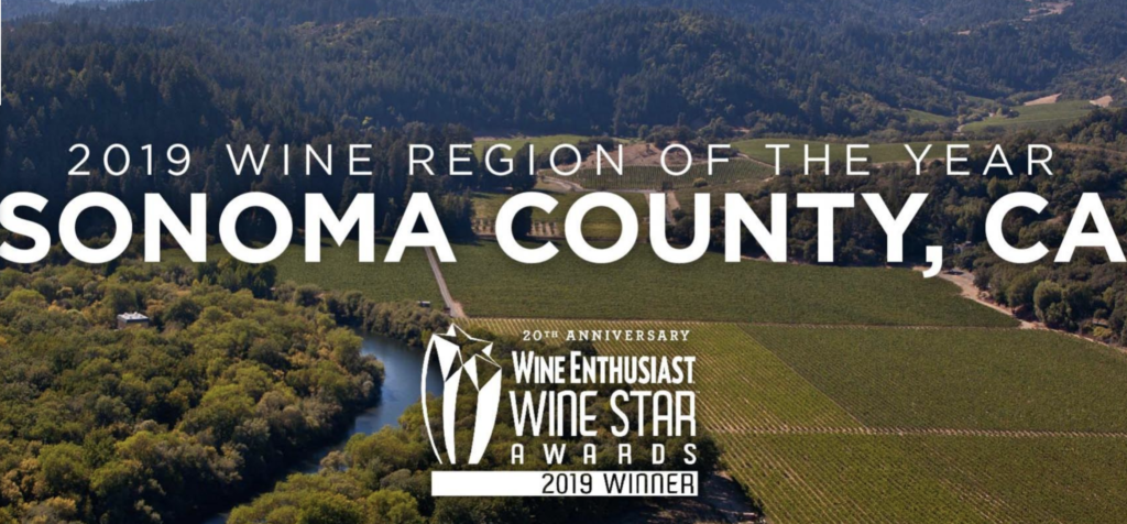 Sonoma County Wine Region of the Year