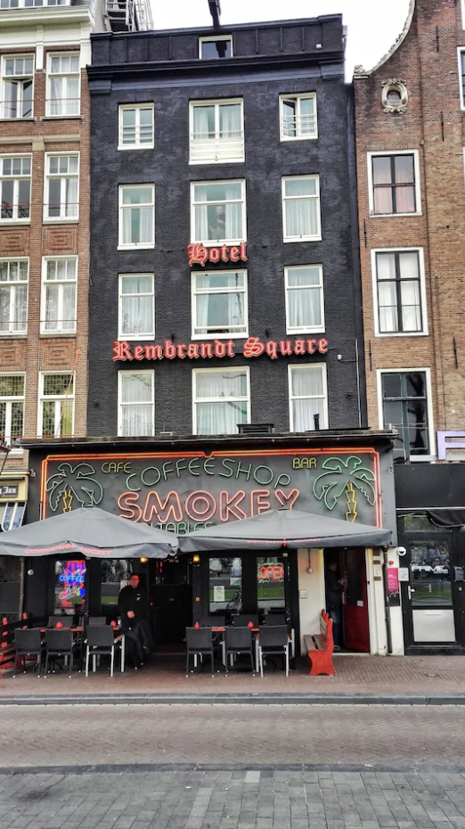 An Amsterdam hotel