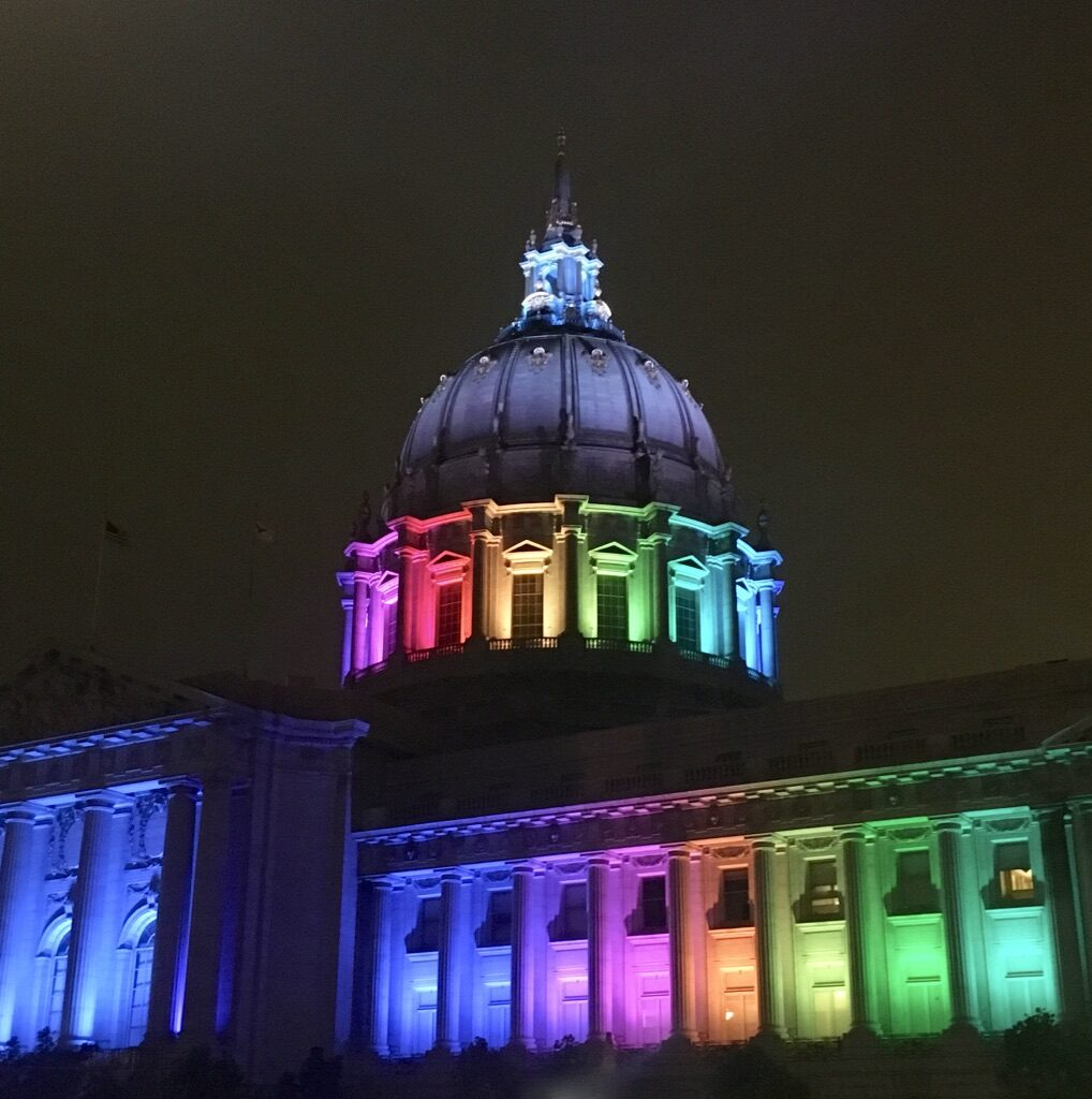 San Francisco City Hall, Gay Pride, Wikimedia