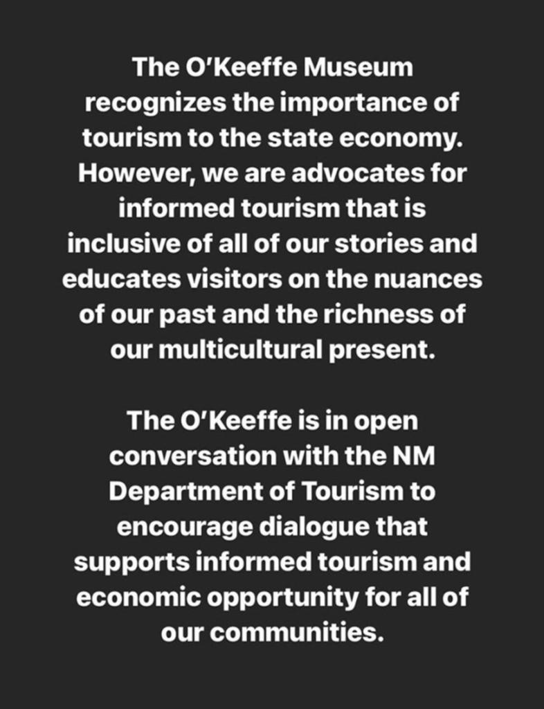 O'Keefe Museum screenshot